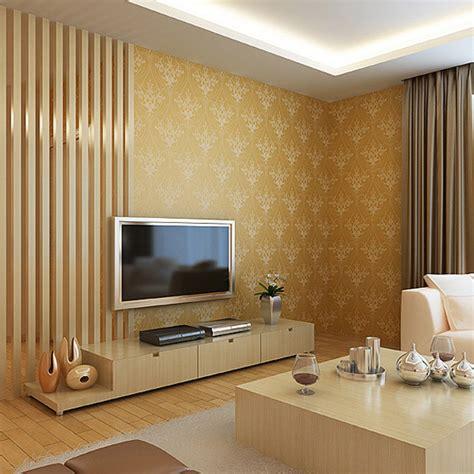 Hotel Wallpaper Decoration Glitter Wallpaper Supplier China Free   shining glitter vintage gold 3d wallpaper wall decor wall