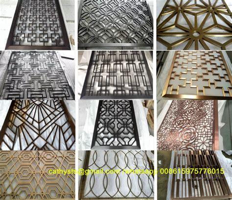 decorative metal panels laser cut screen panel stainless