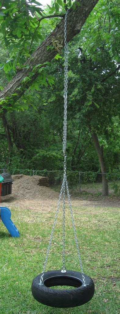 best rope for tire swing how to make a tire swing