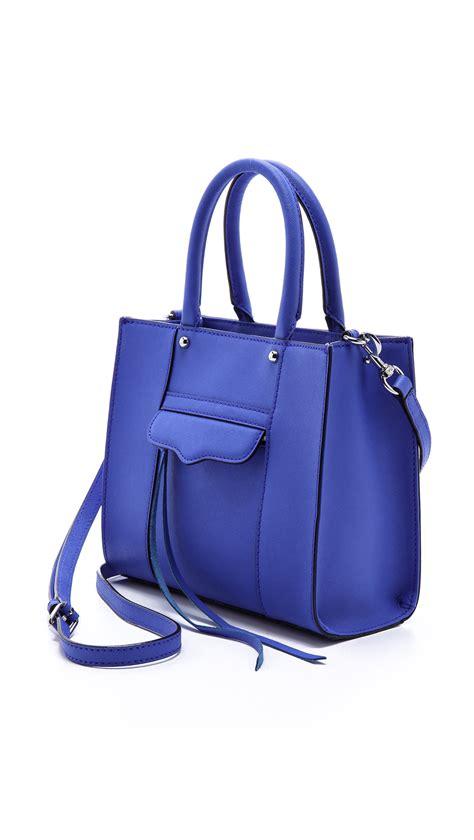 Marks Spencer Coach Style Mini Handbag Keyring by Lyst Minkoff Mab Mini Tote In Blue