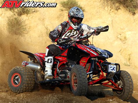 atv motocross racing nick denoble 2009 ama pro atv motocross rookie honda