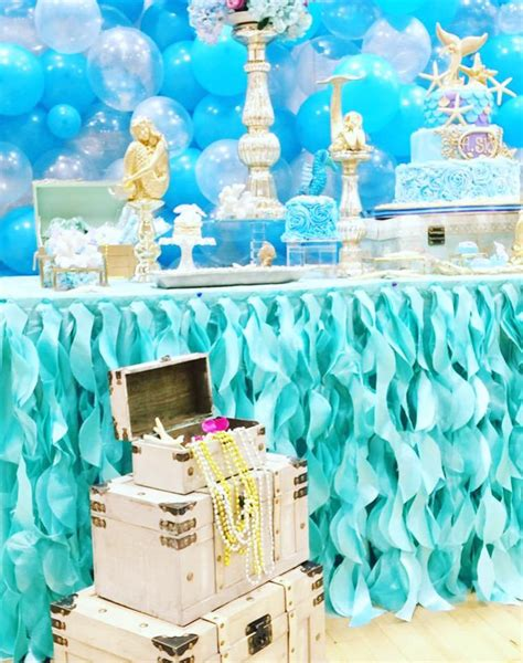 little decorations magical little mermaid birthday birthday party ideas