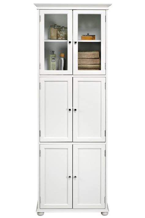 Tall White Bathroom Storage Cabinet Home Furniture Design Bathroom Storage Cabinets White