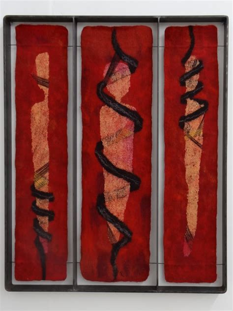 by karen betty tobias hand made felt work pinterest fiberrainbow passionfilz felt exhibition