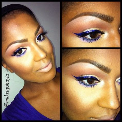 the paper mulberry cosmetics winged eyeliner purple winged eyeliner mac eyeshadow rice paper on lid