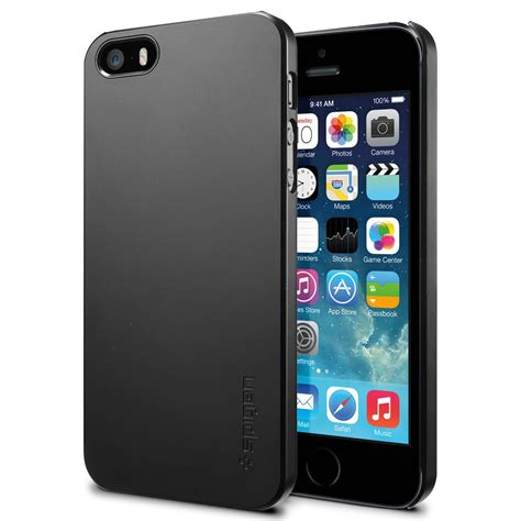 Casing Cover Ultra Thin Stealth Iphone 5 5s 5c Silicon Soft Jell spigen sgp ultra thin air for iphone 5s 5 black