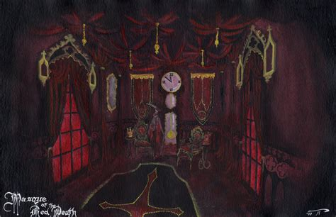 the masque of the rooms masqueofthereddeath black room by pimpdaddyhetzer on
