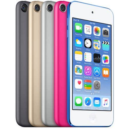 ipod color apple ipod touch 16gb assorted colors walmart