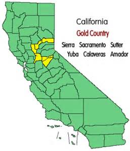 california gold country