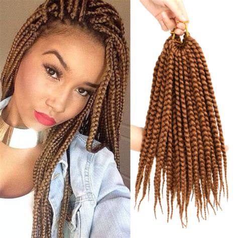 synthetic or human hair box braids 3x twist braid hair color 30 box braids 14 crochet