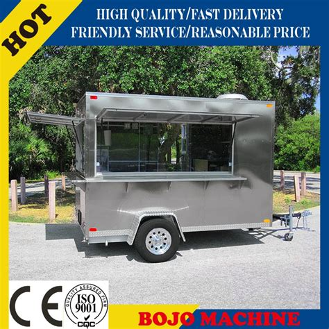 best quality food 2015 sales best quality food caravan for usa standard pearl pannel food caravan