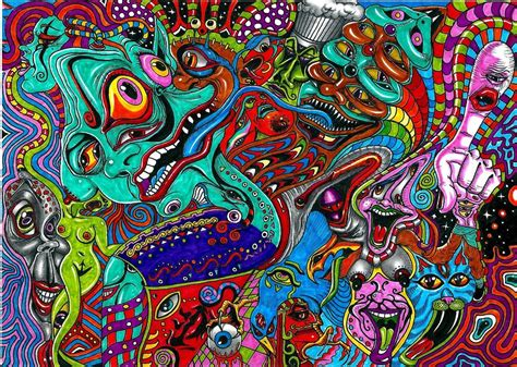 lsd backgrounds acid trip wallpapers wallpaper cave day tripper in