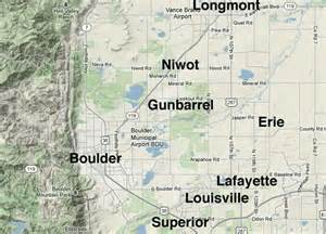 of colorado boulder map schools in boulder county colorado