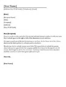 Cover Letter Office by Resume Cover Letter Office Templates