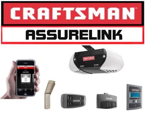 craftsman garage door accessories sears assurelink garage door opener accessories