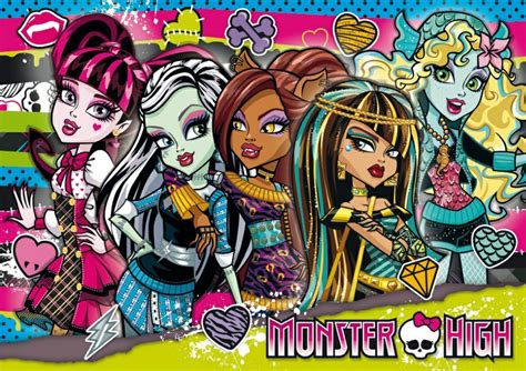 imagenes vectores monster high boysjuegos com monster high friends wallpaper fondo de