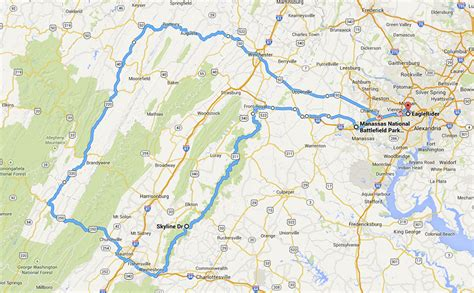 skyline drive map map of skyline drive shenandoah national park pictures to pin on pinsdaddy
