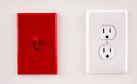 how to connect an electrical outlet to a light switch