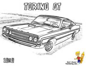 macho muscle car printables free muscle car coloring rod yescoloring