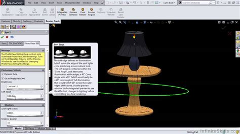 solidworks rendering and visualization tutorial solidworks 2015 rendering and visualization creating fog