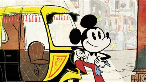 Pulpen Mickey Mous mumbai madness mickey mouse and friends disney