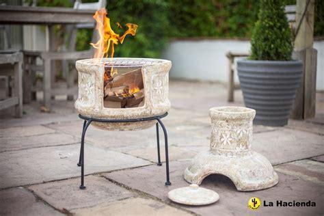 chiminea or chimenea clay chimenea transfoms to barbeque patio heater bbq 2