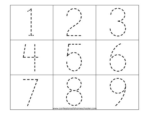 printable number shapes according to l busy book activities for travel quiet
