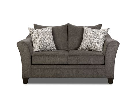 simmons upholstery albany sofa simmons madelyn loveseat albany pewter shop your way