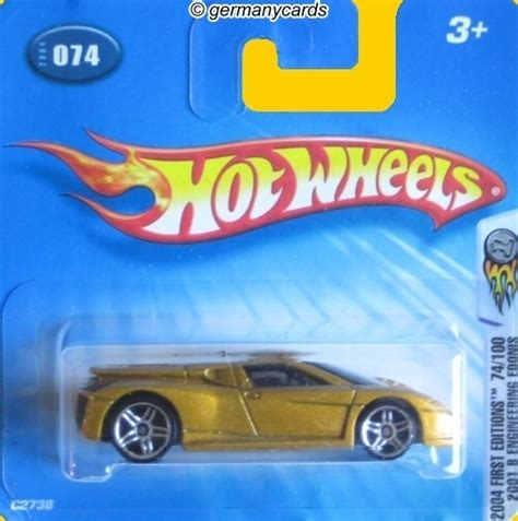 Hotwheels 2001 B Engineering Edonis wheels 2004 2001 b engineering edonis germanycards