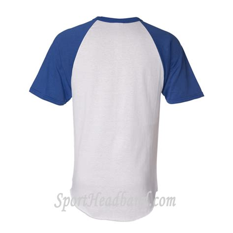 White And Blue Shirt white shirt with blue sleeves artee shirt
