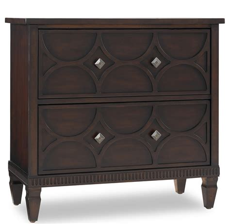 living room chest hooker furniture living room accents two drawer accent