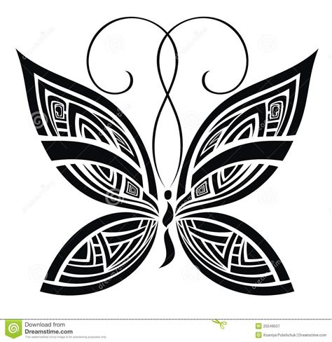 abstract butterfly tattoo designs abstract butterfly vector for your design stock vector