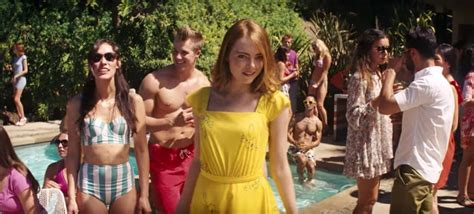 emma stone la la land yellow dress yellow summer dress emma stone in la la land 2016