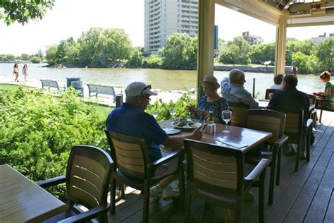 Port Credit Restaurants Patio by Beautiful View From Patio Picture Of Snug Harbour