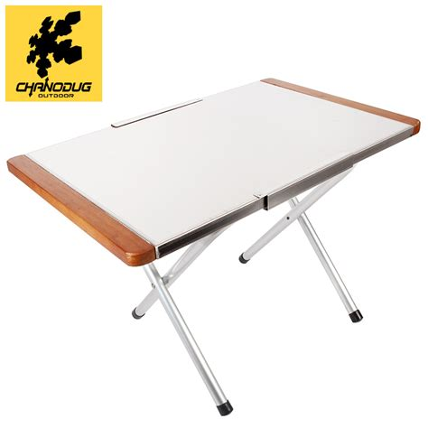 study table foldable chanodug outdoor folding study desk dining portable bed