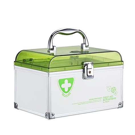 Portable Medicine Storage Box azdent portable medicine storage box organizer with