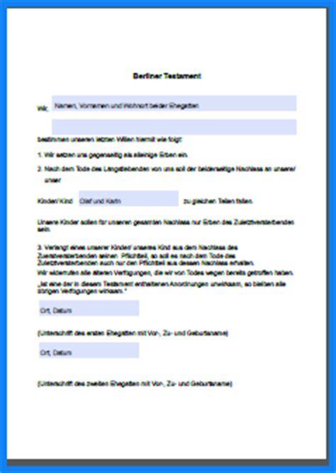 Muster Testament Testament Muster Invitation Templated