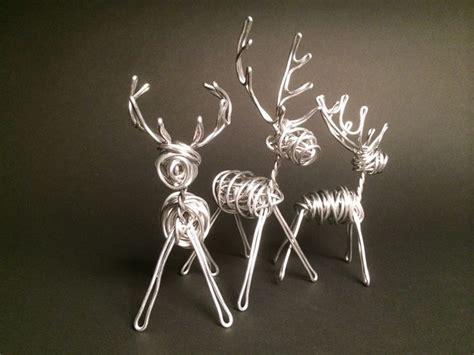 Handmade Reindeer - handmade reindeer sculpture decorations my diy tips