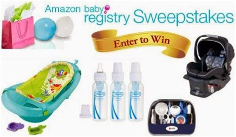 Amazon Baby Registry Sweepstakes - amazon baby registry sweepstakes 2014 sweepstakesbible