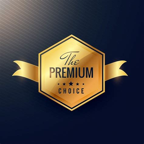 Best Seller Evro Premium Serut Black golden badge for premium products vector free