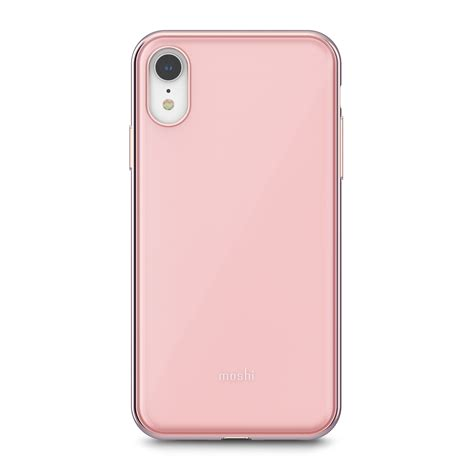 iphone xr shop iphone protection pink iglaze by moshi