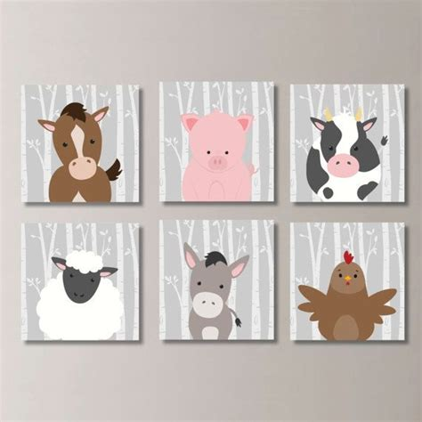Farm Animal Nursery Decor Best 25 Farm Animal Nursery Ideas On Pinterest Farm Nursery Farm Animals List And Large