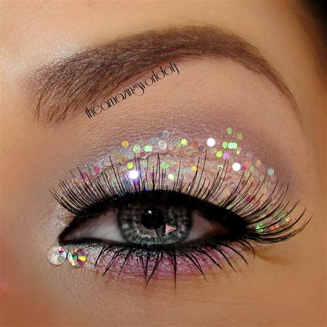 Sparkly Look It Or It by Prom Makeup For Brown And Pink Dress Makeup Vidalondon