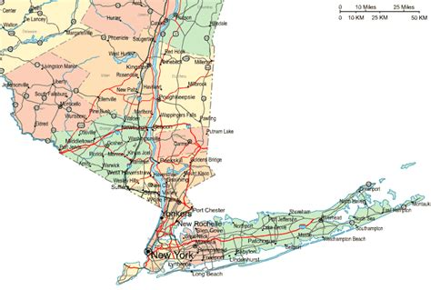 Southern District Of New York Search Map Of Southern New York Cakeandbloom