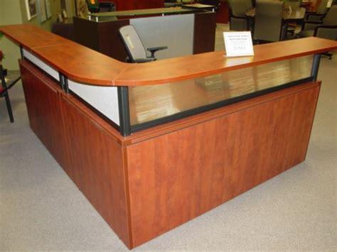 laminate reception desk hoppers office furniture laminate reception desk