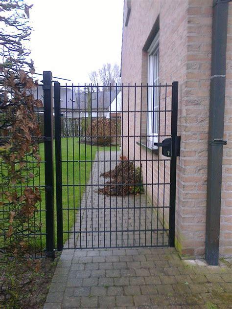 tuinpoorten met staalmat afsluitingen poorten