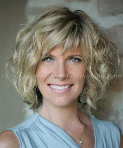 haircuts for women 60and older with thick curly hair short hairstyles over 50 hairstyles over 60 wavy bob