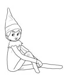 19 Best Elves Images On Pinterest Elves A Stick And Elves Coloring Pages