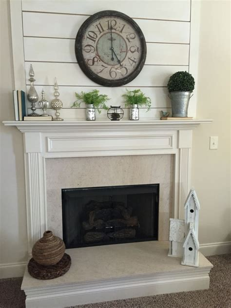 fireplace wall decor outstanding shiplap fireplace wall decor ideas 52