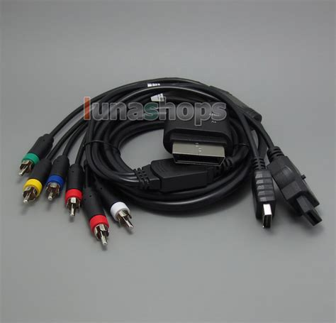 4in1 Cable 4in1 hdmi cable all console component audio cord for